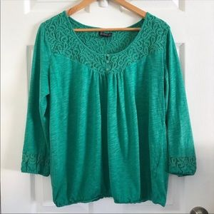 Emerald Color Lucky Brand XL